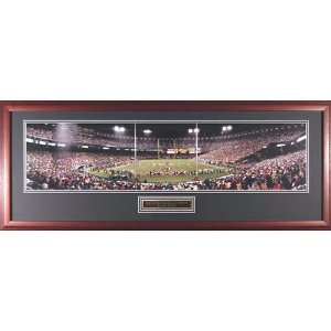 Mounted Memories San Francisco 49ers vs Giants End Zone at