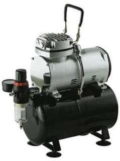 5HP OIL LESS AIR COMPRESSOR w TANK, FILTER & REGULATOR MIB