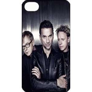 Depeche iPhone 4 iPhone4 Black Designer Hard Case Cover