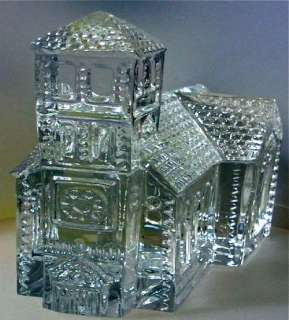 WATERFORD CRYSTAL LISMORE VILLAGE CHURCH/New in Box/3203184400