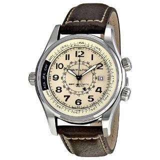 Hamilton Mens Khaki Aviation QNE Automatic Strap Watch