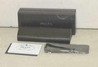 Prada Womens Wire Rim Eyeglass Frames Brown VPR56N 4AC 1O1