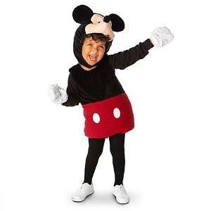 MICKEY MOUSE Club house Delux PLUSH 2 PIECE COSTUME   all