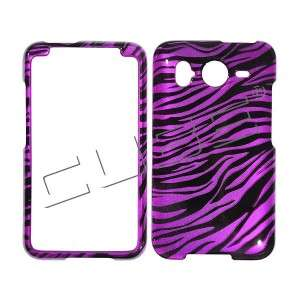 Hot Pink Zebra SKIN HARD COVER CASE 4 HTC Inspire 4G