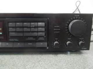 Onkyo TX 800 AM FM Stereo Receiver Quartz Synthesized Tuner Amplifier