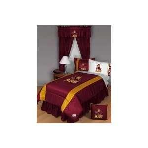 ARIZONA STATE SUN DEVILS FULL / QUEEN BED COMFORTER