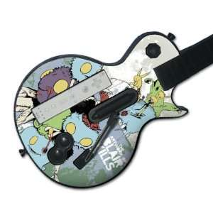 Hero Les Paul  Wii  Blair Kills  Psycho Fuzzies Skin Video Games