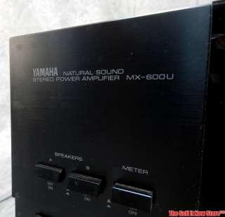 600U POWER AMPLIFIER AMP HOME AUDIO ELECTRONICS GEAR STEREO 2 CHANNEL