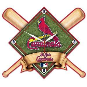 Saint Louis Cardinals Mlb High Definition Clock  Sports