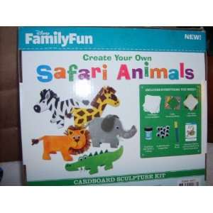 Disney Family Fun Create Your Own Safari Animals Toys