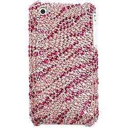 iPhone 3G/ 3GS Pink Zebra Diamond Rhinestone Case
