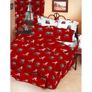UNIVERSITY OF ALABAMA CRIMSON TIDE  Bedding Set  10 Pc