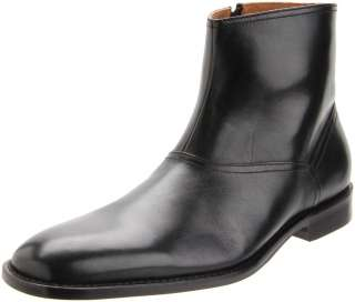 Murphy Mens Knowland Black Side Zipper Casual Dress Ankle Boots