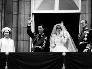 Prince Charles, Lady Diana, Queen Elizabeth II,Prince Philip on
