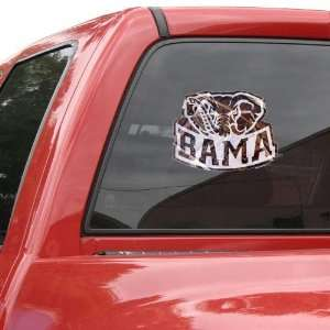 Alabama Crimson Tide 12 Camo Car Decal  Sports