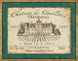 French Wine Label IV Posters by Daphne Brissonnet at AllPosters