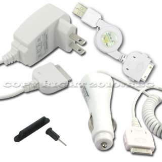 DC TRAVEL CHARGER ADAPTER FOR APPLE IPOD TOUCH 4TH 2ND 3RD GEN