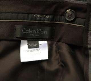 CALVIN KLEIN COLLECTION Mens Suit Jacket Blazer 52/41