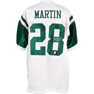 NFL   Curtis Martin Autographed Jersey | Details New York Jets, White