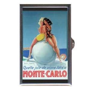 Monte Carlo Beach Girls Retro Coin, Mint or Pill Box Made