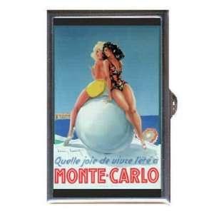 Monte Carlo Beach Girls Retro Coin, Mint or Pill Box Made