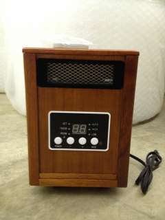 1500W Dual System Portable Quartz Infrared Heater