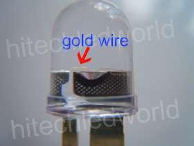 10p High Power 1W 10mm Red LED Lamp Light 280,000mcd