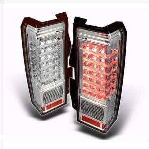 Spyder LED Euro / Altezza Tail Lights 06 09 Hummer H3 Automotive