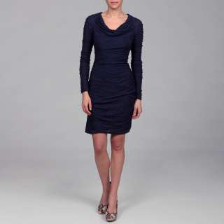 Miss Sixty Womens Sapphire Textured Knit Dress