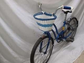Schwinn Bantam Girls Bike 20 Wheels Basket Fenders Chain Guard