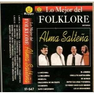 Audio Cassette Lo Mejor del FOLKLORE ALMA SALTEÑA Alma