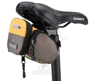 NEW Cycling Bicycle Bike Saddle Seat Bag Quick Release