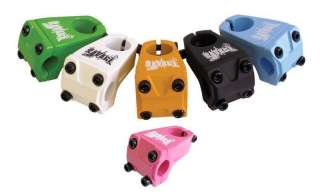 SAVAGE BMX BIKE HANDLEBAR STEM 6 COLOR CHOICE