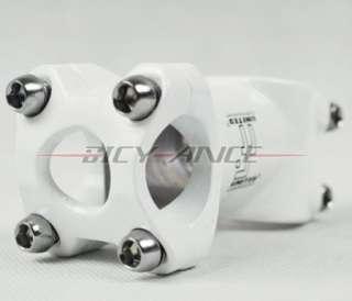 2012 Cycling bicycle bike polygon Handlebar Stem 55mm X 25.4mm White