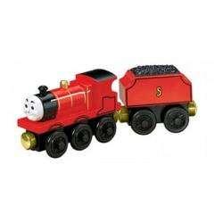 Talking James Wooden Train Engine Toy