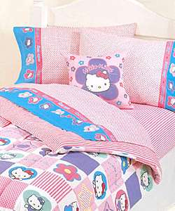 Hello Kitty Patchwork Comforter Room in a bag