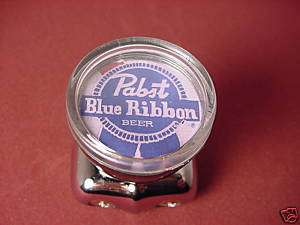 PABST BLUE RIBBON VINTAGE LABEL STEERING KNOB RAT ROD