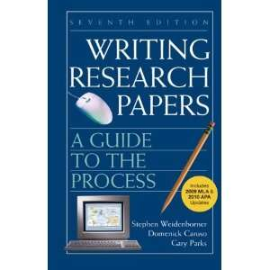 Writing Research Papers with 2009 MLA and 2010 Updates: A Guide to the