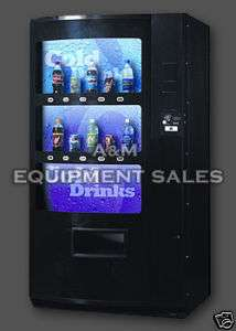 NEW Vendo 721 live display Drink soda vending machine