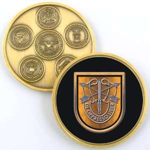 1ST SPECIAL FORCES GROUP PHOTO CHALLENGE COIN YP601