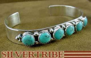 Native American Jewelry Navajo Turquoise Cuff Bracelet