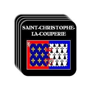 Pays de la Loire   SAINT CHRISTOPHE LA COUPERIE Set of 4