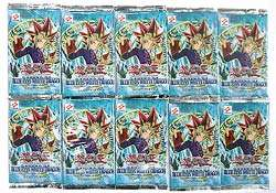 Yu Gi Oh Blue Eyes White Dragon (10 booster packs)