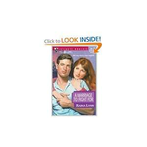 Marriage To Fight For (Silhouette Intimate Moments, No 804) (Harlequin