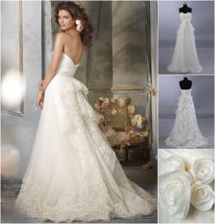 Fantasy Wedding bridal dress Evening Dress Custom made free size
