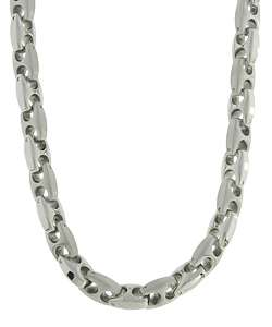 Stainless Steel Mariner Link Necklace