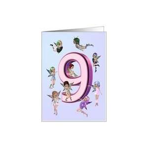 Flower Fairies Birthday Card 9 Years Old Toys
