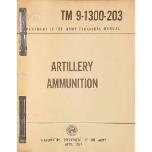 Artillery Ammunition (Department of The Army Technical
