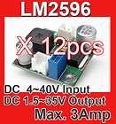 120W DC DC Buck Step down Power Regulator Module Vin 12V   40V