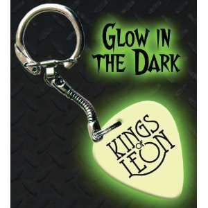 Kings Of Leon Glow In The Dark Premium Guitar Pick Keyring